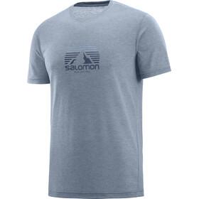 Salomon Exp*** Graphic T-shirt Heren, flint stone